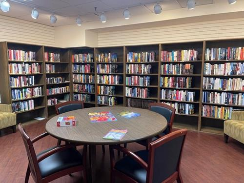 library at scottish rite park