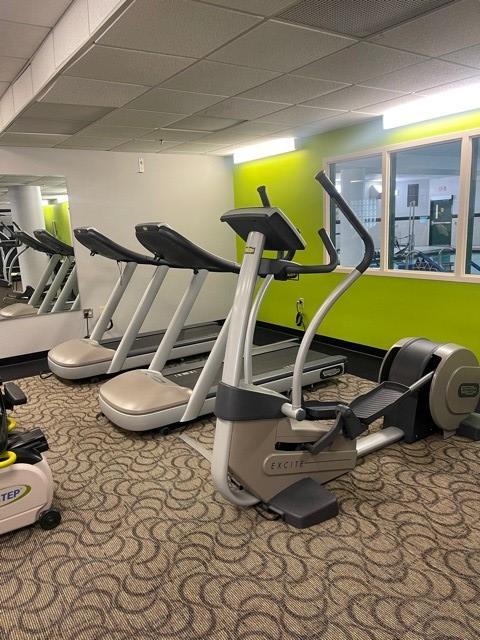 Fitness center 5 500